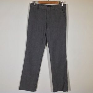 Gap Dress Pants Womens 6 Long Wool Blend Straight